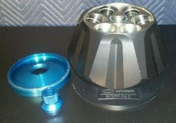 Dupont Sorvall 6 Place Rotor T647.5 Max Rpm=47500 w/Stand & Lid