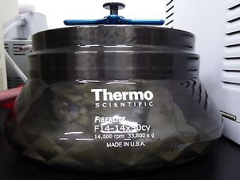 Thermo FiberLite F14-14x50cy Rotor for Sorvall LYNX 4000/6000 Centrifuge