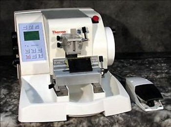 LATE MODEL THERMO MICROM HM355S-3 ROTARY MICROTOME