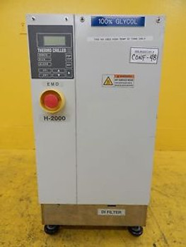 SMC INR-498-012C Thermo Chiller HX H-2000 100% Glycol Used Tested Working