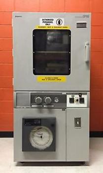 Yamato DP63, +5°C to 200°C, Vacuum Drying Oven + Honeywell DR4312 Chart Recorder