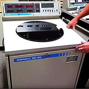 100% REFURBISHED SORVALL RC 5C PLUS REFRIGERATED HIGHSPEED CENTRIFUGE SS34 ROTOR