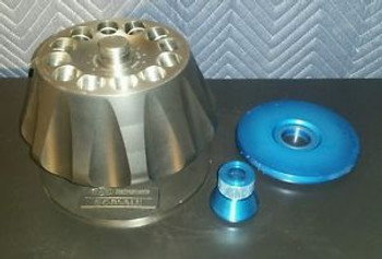 Dupont Sorvall T-1250, 12 Place Rotor Max Rpm=50000 w/Lid and Stand Working Good
