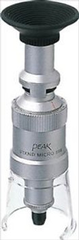 100 Times Peak Stand Micrometer For Inspection W/Scale 2008-100 Made In Japan