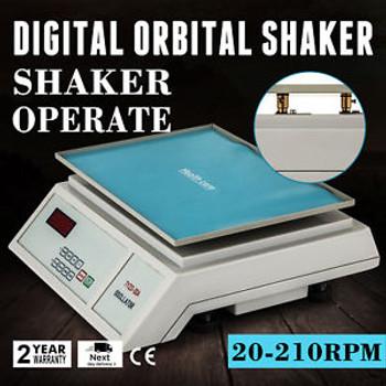 Lab Digital Oscillator Orbital Rotator Shaker Scientific 0-210Rpm Variable Speed