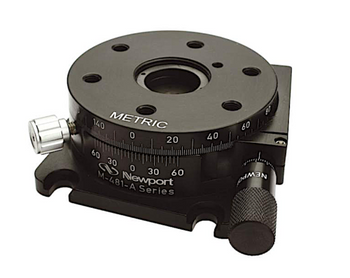 Newport M-481-A Precision Rotation Stage with Micrometer, Metric