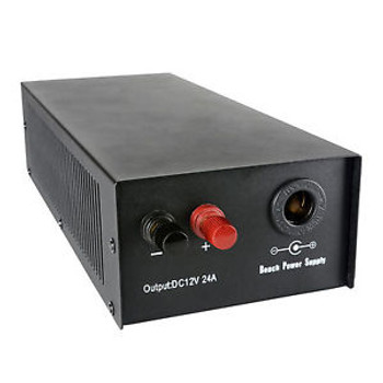 12V 24A 288W Regulated Power Supply with Case and Accessorie