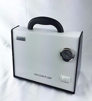 Azzota Oil Free Vacuum Pump 8L/Min 80Kpa 10Psi 50W &Lt50Db