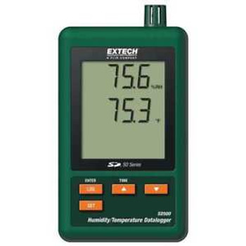 Thermistor Temperature And Humidity Data Logger Extech Sd500