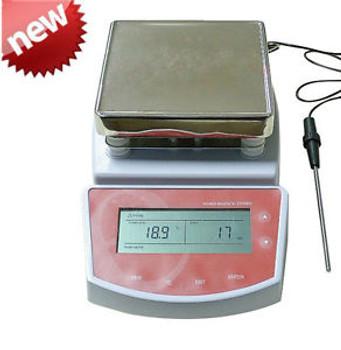 100%Good Digital Hot Plate Magnetic Stirrer Electric Heating Mixer Max Temp 400