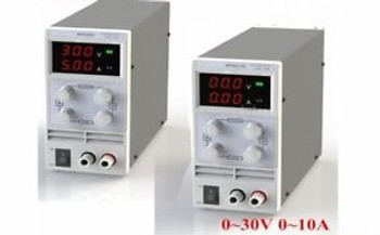 2X 10A 30V Dual Digital Dc Power Supply Percise Variation For Lab Usage Us Ht
