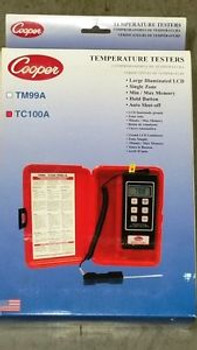 Digital Thermometer And Probe (Tc-100A