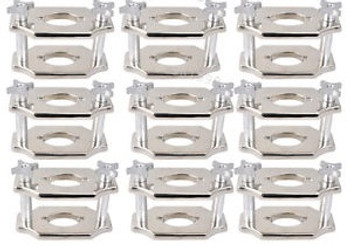 10Pcs Usa Dental Reline Jig Single Compress Press Plate Lab Equipment Industry