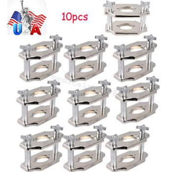 10Pcs Dental Supplies Reline Jig Single Compress Press Plate Lab Equipment Usa
