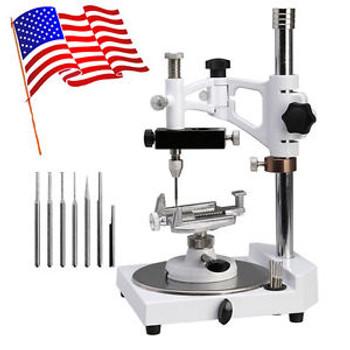 USA Dental Lab Parallel Surveyor Equipment Handpiece Holder Spindle Complete Set