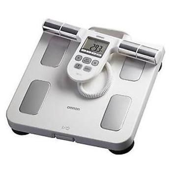 Omron Healthcare HBF-510W Full Body Sensor w Scale Wht