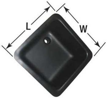Orion Laboratory Sink Corrosion Resistant Black Bowl Size 18 X 15 Arls 15