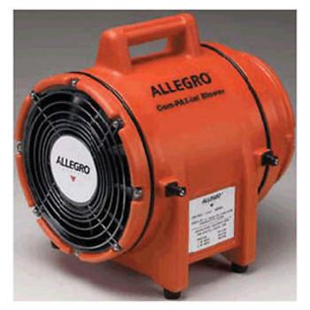 Allegro  Com-Pax-Ial 115 V 3 A 1/3 Hp 831 Cfm Polyethylene Dc Submersibleac Exp