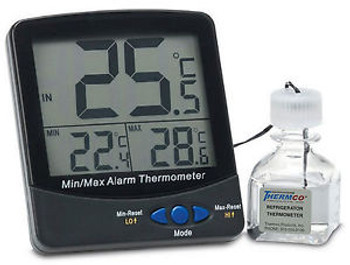 Certified Digital Thermometer - Incubator Certified @ +37C