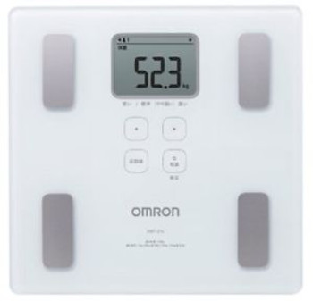 Omron KARADA Scan Body Composition & Scale | HBF-214-W (Japanese Import)