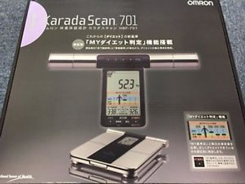 Omron Weight Scale Body Composition Meter Karada Scan 701 Hbf-701 Japan