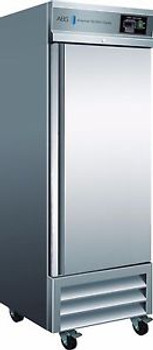 American BioTech Supply ABT-23SS-GP Premier Stainless Steel Refrigerator