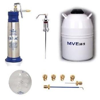 Brymill Cry-Ac Cryosurgical LN2 Sprayer Dermatology Package BRY-1003