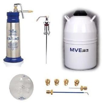Brymill Cryosurgery Liquid Nitrogen Sprayer Dermatology Package BRY-1002