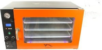 3.2CF WIDE BVV Vacuum Oven- 3 Individual Heated Shelves- LCD Display and LEDs