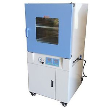 3.2 Cu Ft,18X18X18 LAB Vacuum Oven Degassing Drying Oven 482F Herbal Extraction