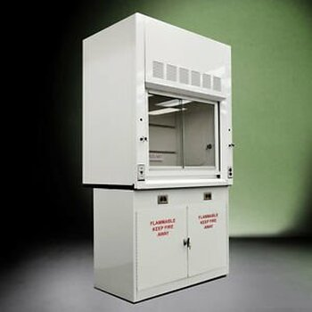 - Chemical  Fume Hood 4 W/ Flammable Base Cabinets