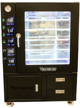 7.5CF BVV Vacuum Oven- LCD/ LED- 5 Individually Heated Shelves with Drawers and