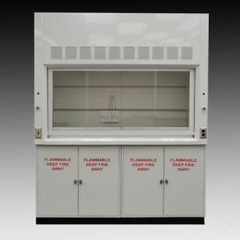 - Laboratory  Chemical Fume Hood 6 & Flammable Cabinets.