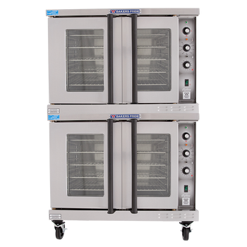 Bakers Pride BCO-E2 Cyclone Series Full-Size, Double Commercial Convection Ovens