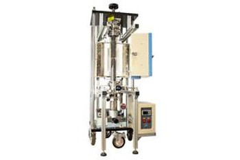 Vacuum Heated Pressing Furnace up to 1100C with 4 Quartz Tube and Water Cold