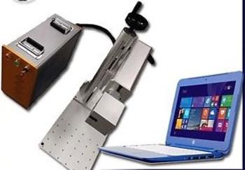 Portable w/stand 30W MOPA M6 Black, Color Fiber Marking/ Engraving Laser FDA 2YR