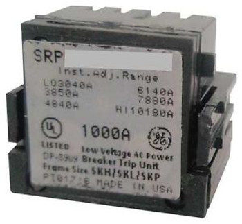 General Electric Srpk800A800 Rating Plugbolt On800A