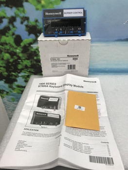 Honeywell S7800A 1001 Keyboard Display Module ENGLISH S7800A1001  NEW