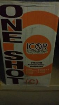 24 lb can of oneshot refrigerant replaces r-22 r-502 and others