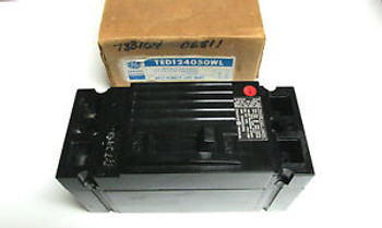 ... General Electric 50A 2P Circuit Breaker Cat# Ted124050 ...  Wf-05
