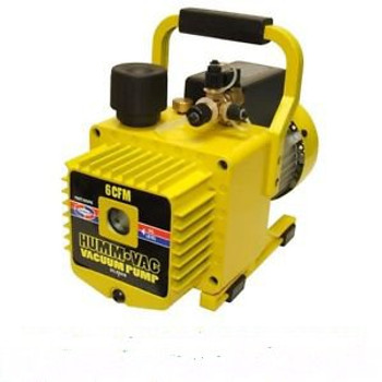 BHO Process Vacuum Purge / Pump - 6 CFM 110 / 220V - 2 Stage with Rotary Vane