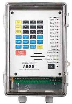 1800 Series 8-Channel Programmable Remote Monitoring Alarm Phone Key System HVAC