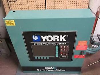 YORK OPTIVIEW MAX-E CONTROL CENTER # 371-02264-105 FEAT. 331-01771-000 DISPLAY