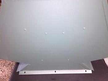 001458 Raypak Commercial Pool 624 Heater Draft Hood Flue Diameter 12 Green