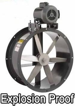 12 Tube Axial Fan - 1875 CFM - 1.5 HP - 3 Ph - 230/460V - Belt Driven - Duct