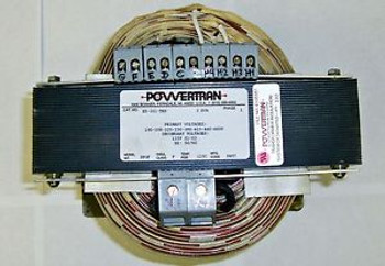#Sls1B19  New Powertrain Transformer Cat No. Ex-101-Trk 3Kva 1 Phase 14070Ell
