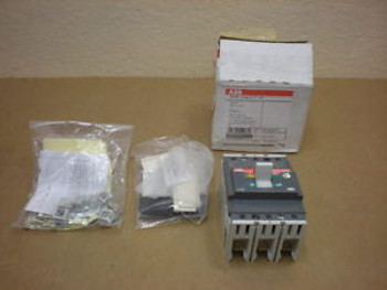 1  ABB SACE TMAX-T2-H-100 TMAXT2H100 50 AMP 3 POLE CIRCUIT BREAKER
