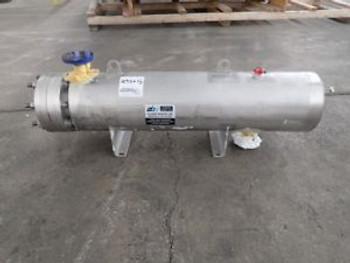 12 Sq Ft Allegheny Bradford Heat Exchanger 316L S/S 150#