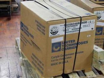 #295 Carlyle 06DS8246BC3600-L A/C Duty Semi-Hermetic Compressor 8 Ton 460V &gtNEW&lt