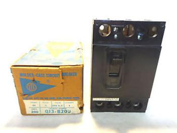 Ite Qj3-B200 3 Pole 200 Amp Circuit Breaker